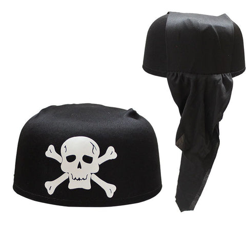 Bandana Pirate<br> Noir - Bandana District