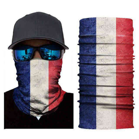 Foulard Moto<br> France - Bandana District