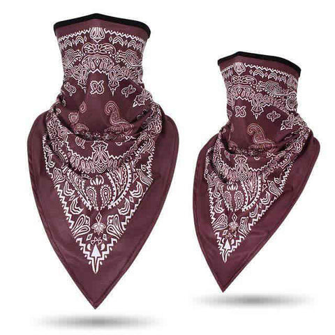 Bandana Moto<br> Marron - Bandana District