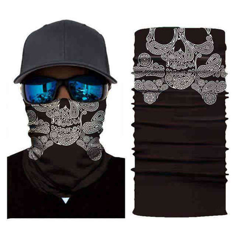 Foulard Moto<br> Tete De Mort Bandana - Bandana District