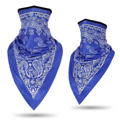 Bandana Moto<br> Bleu - Bandana District