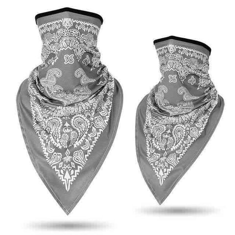 Bandana Moto<br> Gris - Bandana District