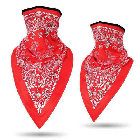 Bandana Moto<br> Rouge - Bandana District