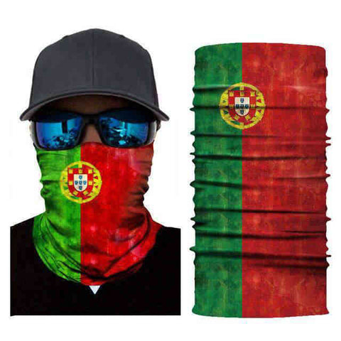 Foulard Moto<br> Portugal - Bandana District
