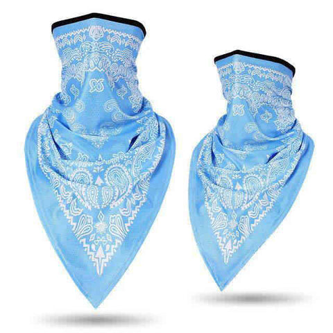 Bandana Moto<br> Bleu Clair - Bandana District