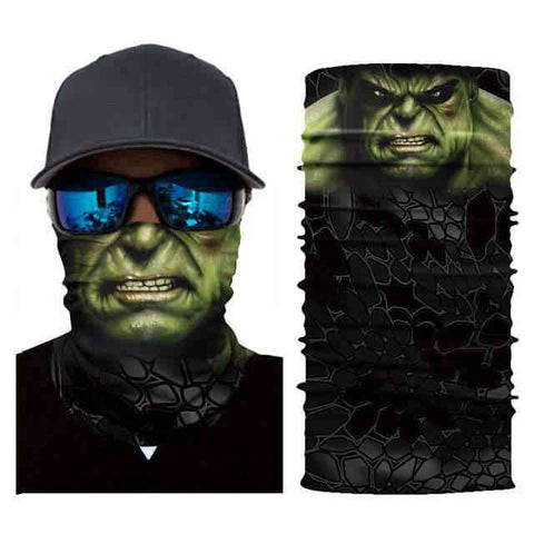 Foulard Moto<br> Hulk - Bandana District