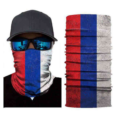 Foulard Moto<br> Russie - Bandana District