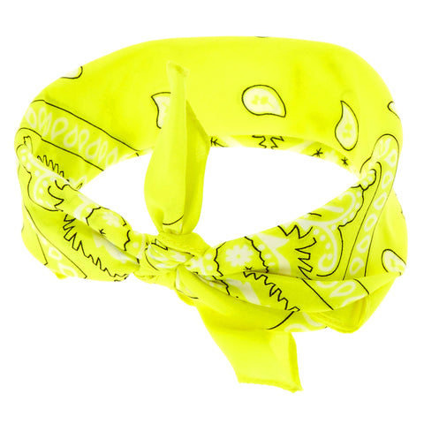 Bandana Fluo Jaune - Bandana District