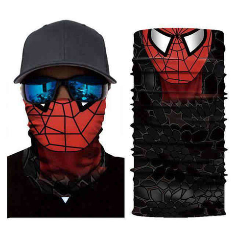 Foulard Moto<br> Spider - Bandana District