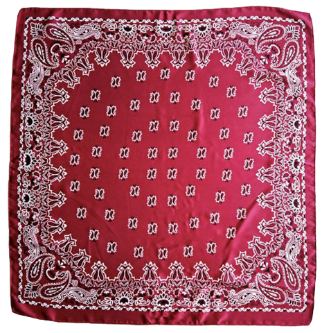 Bandana <br> Rouge Bordeaux - Bandana District