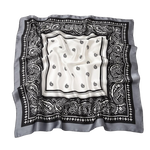 Bandana <br> Gris et Noir - Bandana District