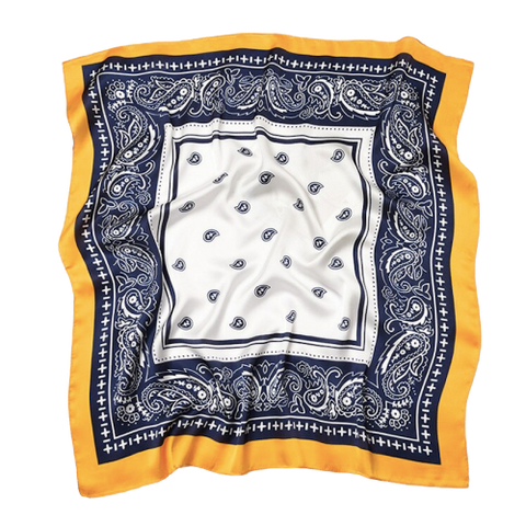 Bandana <br> Jaune et Bleu - Bandana District