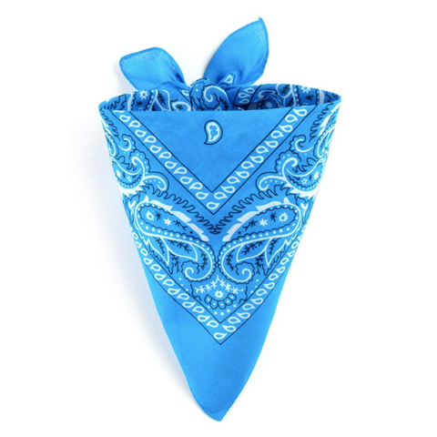 Bandana Homme<br> Bleu Ciel - Bandana District