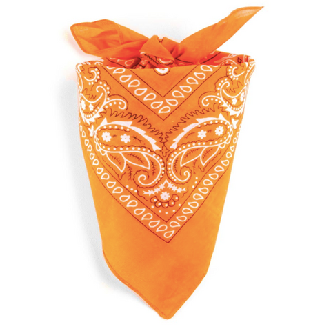 Bandana Homme<br> Orange Lantana - Bandana District