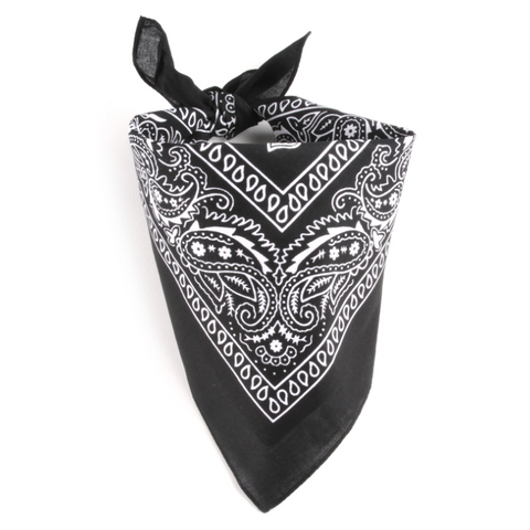 Bandana Homme<br> Noir - Bandana District
