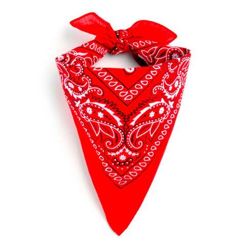 Bandana Homme<br> Rouge - Bandana District
