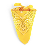 Bandana Homme<br> Jaune - Bandana District