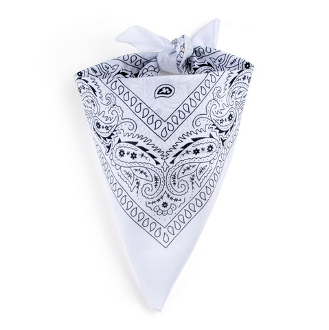 Bandana Homme<br> Blanc - Bandana District