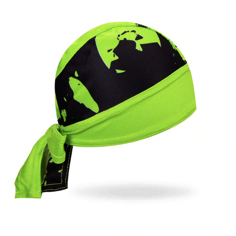 Bandana Sport <br> Noir & Vert - Bandana District