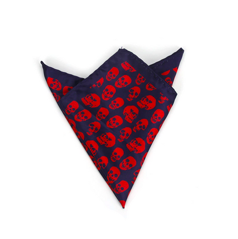 Bandana Tête de Mort <br> Navy Sang - Bandana District