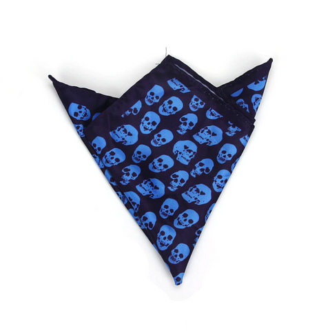 Bandana Tête de Mort <br> Navy Bleu - Bandana District
