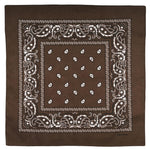 Bandana Homme<br> Marron - Bandana District