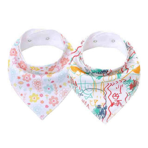 Bavoir Bandana <br> Bebe Fille - Bandana District