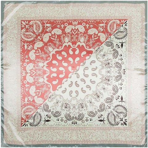 Foulard Cachemire <br> Rose - Bandana District