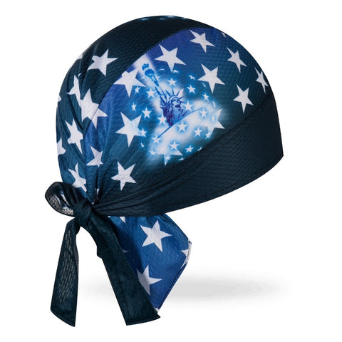 Bandana Vélo <br> USA Bleu - Bandana District