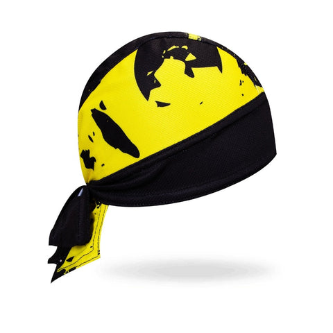 Bandana Sport <br> Noir & Jaune - Bandana District