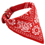 Collier Bandana Chien<br> Rouge - Bandana District