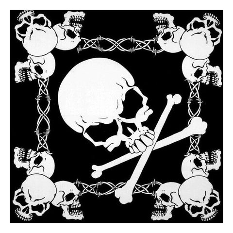 Bandana Tete de mort<br> Biker - Bandana District