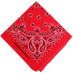 Bandana <br> Rouge et Noir - Bandana District