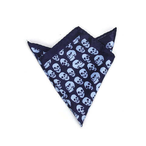 Bandana Tete de Mort <br> Bleu Ciel - Bandana District