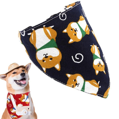 Collier Bandana <br> Shiba - Bandana District