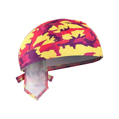 Bandana Cyclisme <br> Camo Coloré - Bandana District