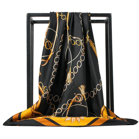 Foulard Bandana <br> Luxe Orangé - Bandana District