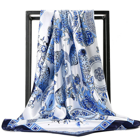 Foulard Bandana <br> Bleu Magnifique - Bandana District