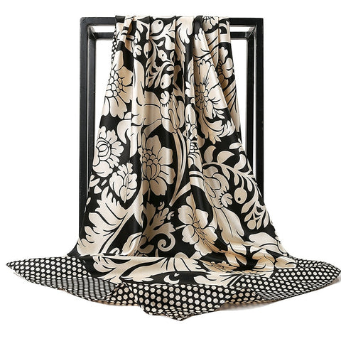 Foulard Bandana <br> Style à Fleurs - Bandana District