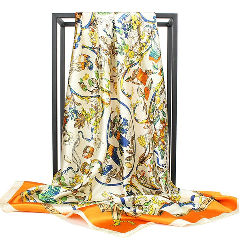 Foulard Bandana <br> Fleurs Égyptiennes - Bandana District