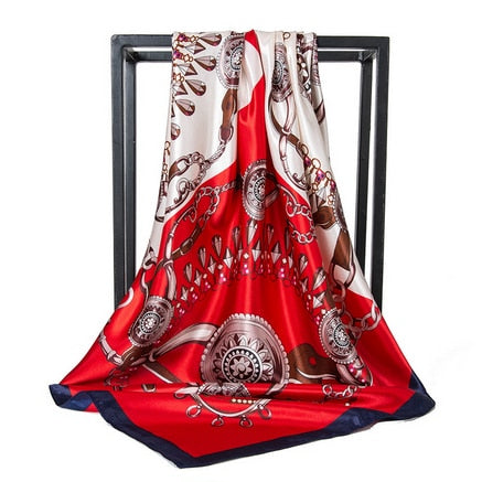 Foulard Bandana <br> Rubis - Bandana District