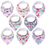 Lot Bavoir Bandana <br> Juliette - Bandana District