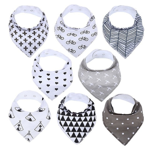 Lot Bavoir Bandana <br> Antoine - Bandana District