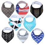 Lot Bavoir Bandana <br> Clément - Bandana District