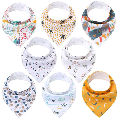 Lot Bavoir Bandana <br> Martin - Bandana District
