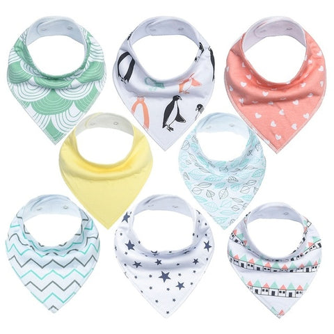 Lot Bavoir Bandana <br> Eva - Bandana District