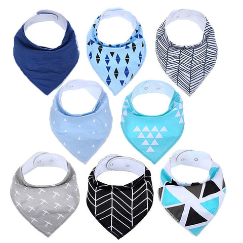 Lot Bavoir Bandana <br> Sarah - Bandana District