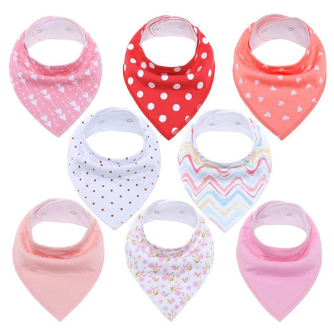 Lot Bavoir Bandana <br> Rose - Bandana District
