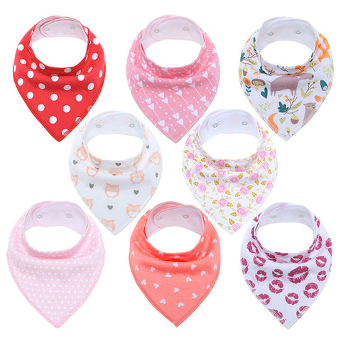 Lot Bavoir Bandana <br> Fille - Bandana District