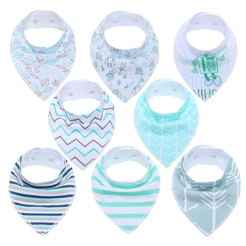 Lot Bavoir Bandana <br> Nina - Bandana District